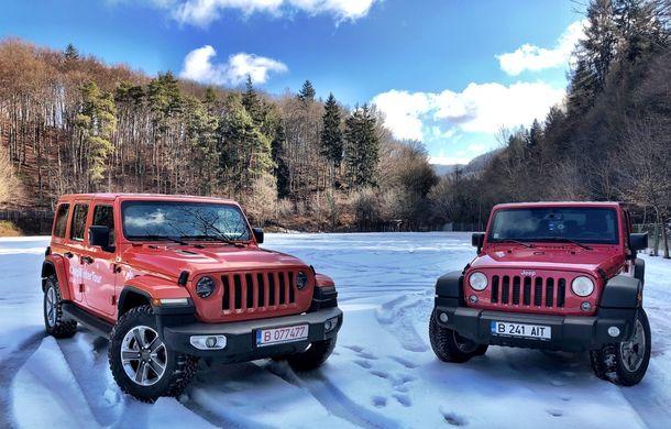 Jeep Winter Tour 2019: Wrangler vs. Wrangler - Poza 1