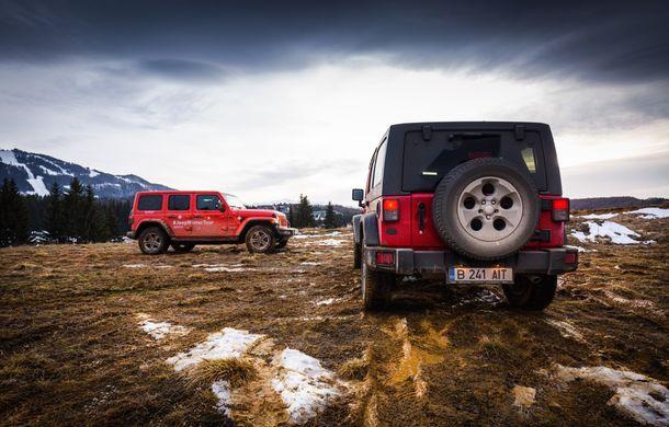 Jeep Winter Tour 2019: Wrangler vs. Wrangler - Poza 45