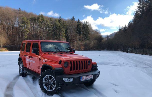 Jeep Winter Tour 2019: Wrangler vs. Wrangler - Poza 9