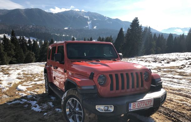 Jeep Winter Tour 2019: Wrangler vs. Wrangler - Poza 8