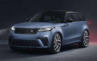 Range Rover Velar SVAutobiography Dynamic Edition: cel mai puternic Velar are motor V8 de 5.0 litri și 550 de cai putere