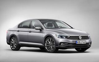 Volkswagen Passat facelift: modificări minore de design și tehnologii moderne de asistență