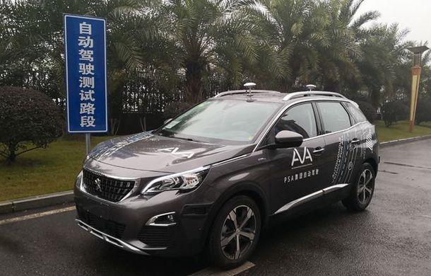 După Mercedes, BMW și Audi, a venit și rândul PSA: grupul francez a primit licență să facă teste cu mașini autonome în China - Poza 1