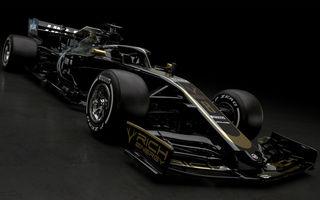 Haas, prima echipă care prezintă monopostul de Formula 1 pentru sezonul 2019: americanii vor concura în negru și auriu