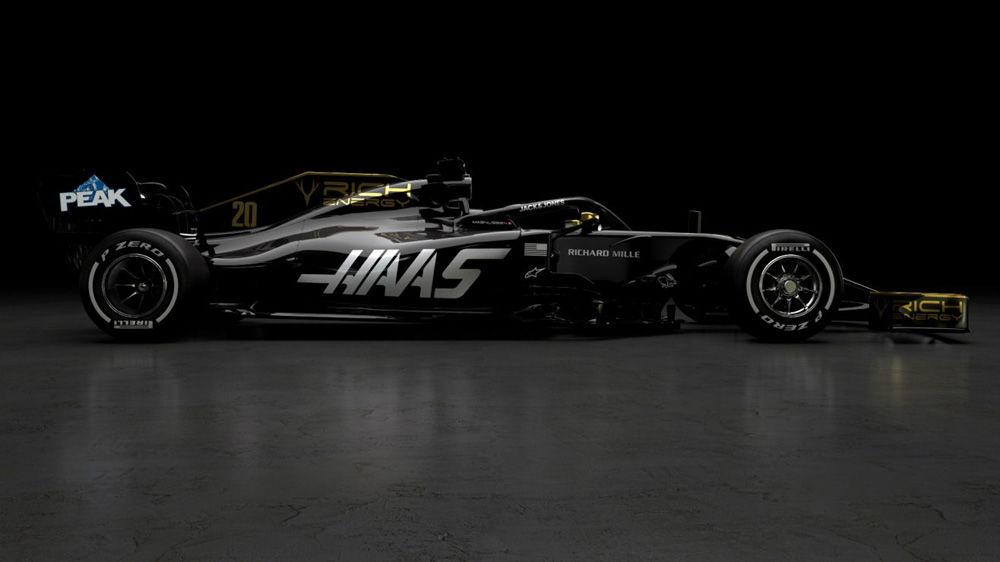 Haas, prima echipă care prezintă monopostul de Formula 1 pentru sezonul 2019: americanii vor concura în negru și auriu - Poza 5