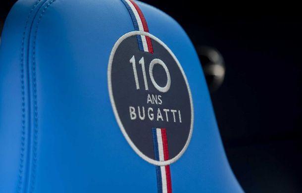 Bugatti împlinește 110 ani și lansează o ediție specială bazată pe Chiron Sport: producția va fi limitată la 20 de unități - Poza 11