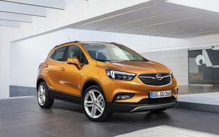 Opel Mokka X va primi o versiune electrică în 2020: autonomia ar putea ajunge la circa 450 de kilometri