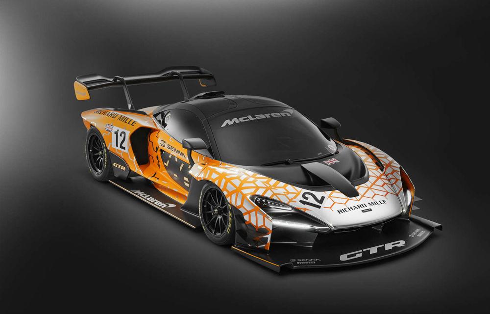 Varianta de producție a lui McLaren Senna GTR Concept ar putea fi prezentată la finalul săptămânii: modelul destinat circuitului va fi produs în doar 75 de unități - Poza 1