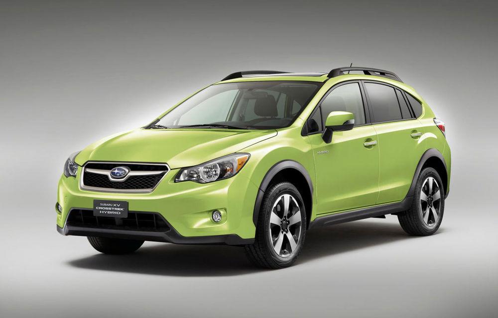 Subaru pregătește două modele cu sistem hibrid de propulsie: debutul acestora va avea loc în cadrul Salonului Auto de la Geneva - Poza 1