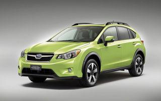 Subaru pregătește două modele cu sistem hibrid de propulsie: debutul acestora va avea loc în cadrul Salonului Auto de la Geneva