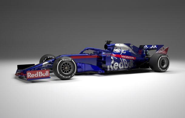 Toro Rosso prezintă noul monopost pentru sezonul 2019: a doua echipă Red Bull mizează pe aceleași culori - Poza 6