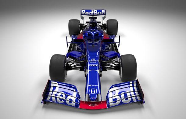 Toro Rosso prezintă noul monopost pentru sezonul 2019: a doua echipă Red Bull mizează pe aceleași culori - Poza 3