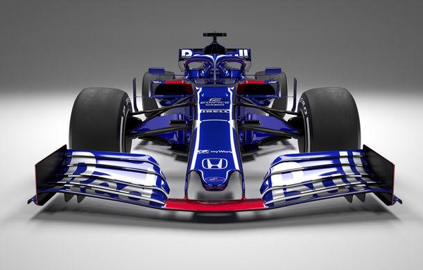 Toro Rosso prezintă noul monopost pentru sezonul 2019: a doua echipă Red Bull mizează pe aceleași culori - Poza 4