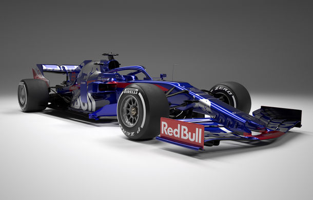 Toro Rosso prezintă noul monopost pentru sezonul 2019: a doua echipă Red Bull mizează pe aceleași culori - Poza 1