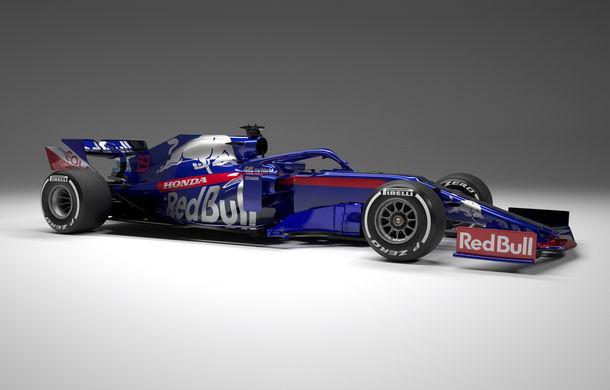 Toro Rosso prezintă noul monopost pentru sezonul 2019: a doua echipă Red Bull mizează pe aceleași culori - Poza 2
