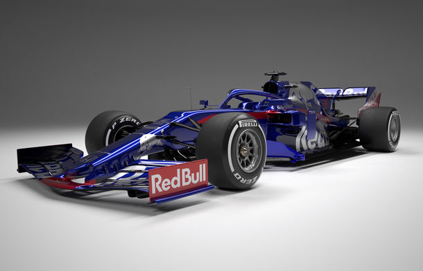 Toro Rosso prezintă noul monopost pentru sezonul 2019: a doua echipă Red Bull mizează pe aceleași culori - Poza 5