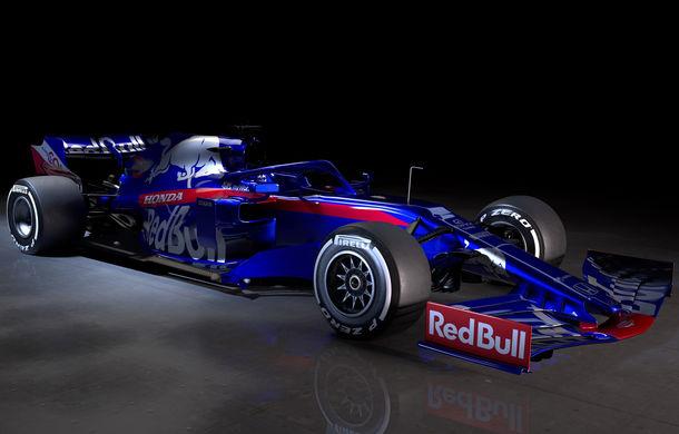 Toro Rosso prezintă noul monopost pentru sezonul 2019: a doua echipă Red Bull mizează pe aceleași culori - Poza 9
