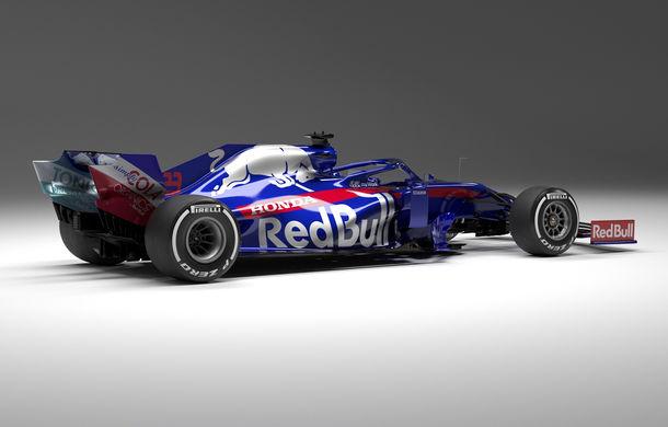 Toro Rosso prezintă noul monopost pentru sezonul 2019: a doua echipă Red Bull mizează pe aceleași culori - Poza 7