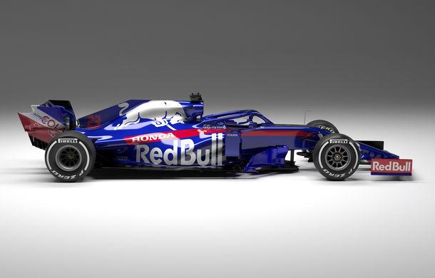 Toro Rosso prezintă noul monopost pentru sezonul 2019: a doua echipă Red Bull mizează pe aceleași culori - Poza 8