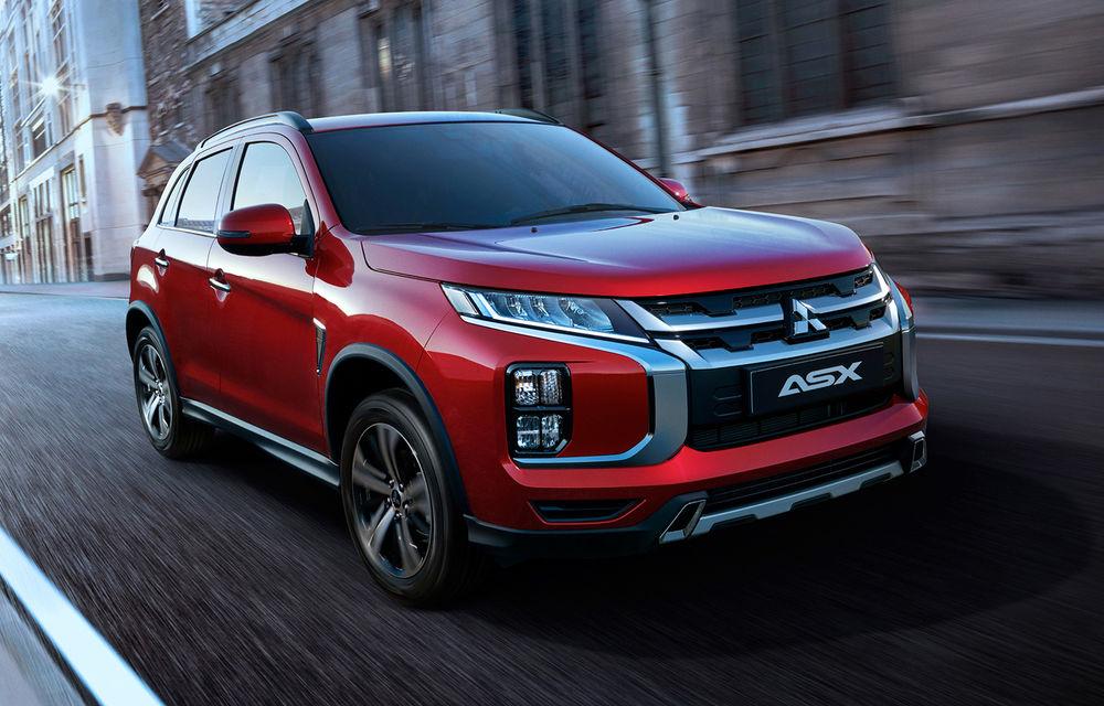 Primele imagini oficiale cu viitorul Mitsubishi ASX: design nou, sisteme de siguranță moderne și fără motorizări diesel - Poza 1