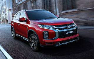 Primele imagini oficiale cu viitorul Mitsubishi ASX: design nou, sisteme de siguranță moderne și fără motorizări diesel