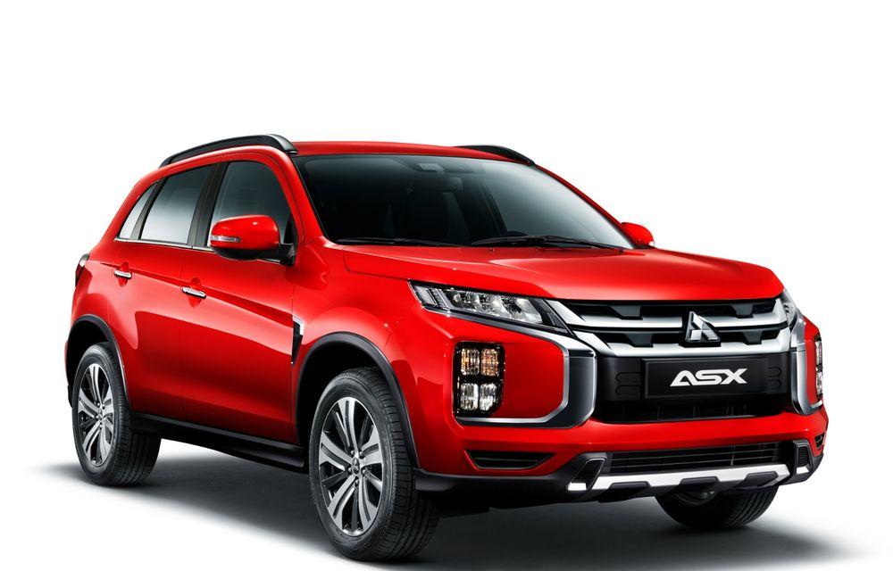 Primele imagini oficiale cu viitorul Mitsubishi ASX: design nou, sisteme de siguranță moderne și fără motorizări diesel - Poza 2