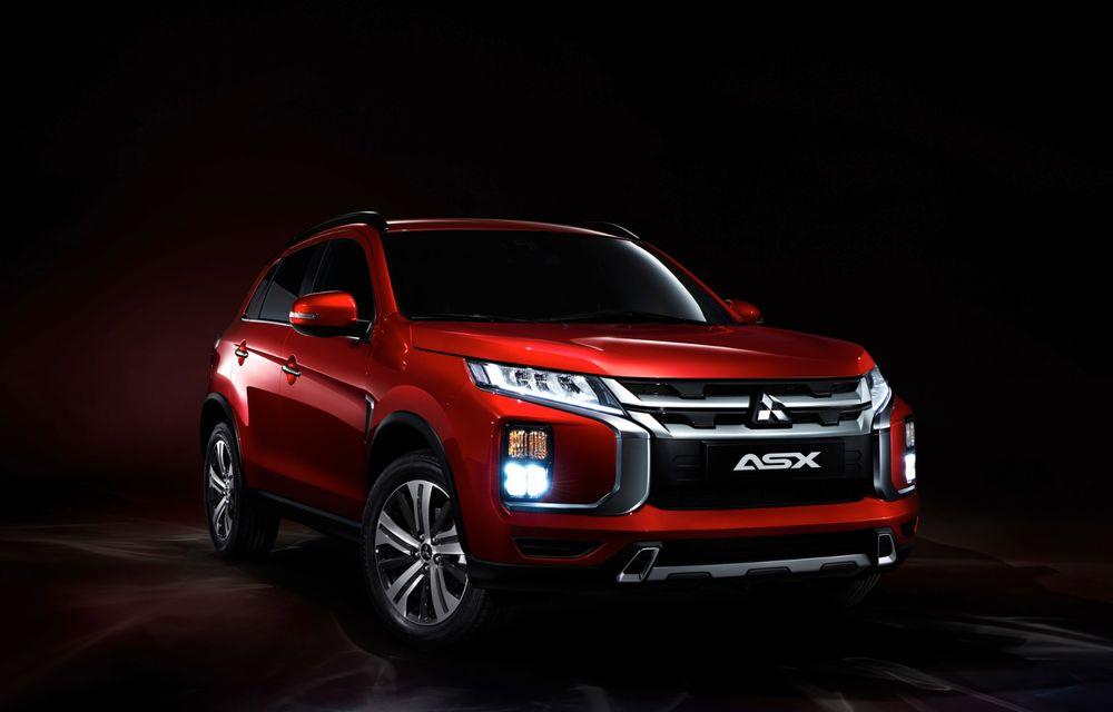Primele imagini oficiale cu viitorul Mitsubishi ASX: design nou, sisteme de siguranță moderne și fără motorizări diesel - Poza 4
