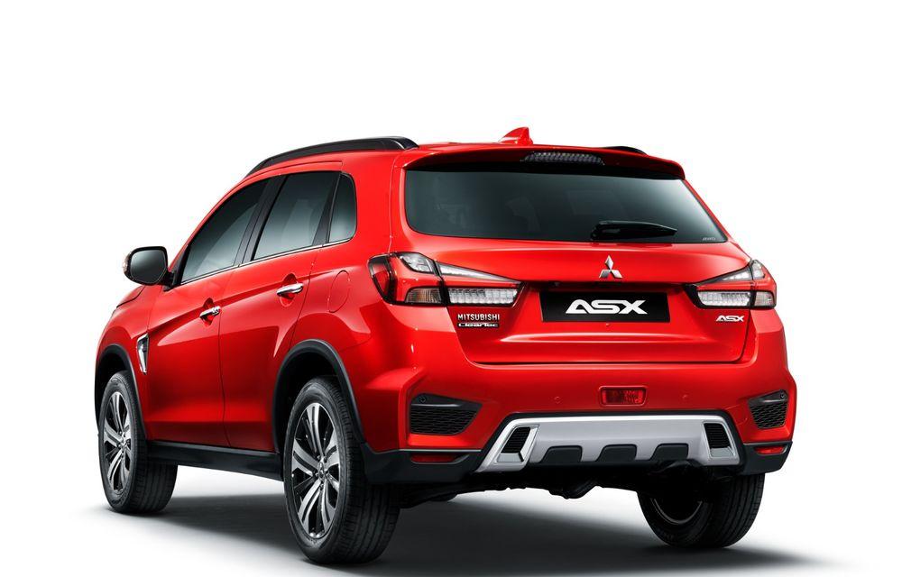 Primele imagini oficiale cu viitorul Mitsubishi ASX: design nou, sisteme de siguranță moderne și fără motorizări diesel - Poza 3