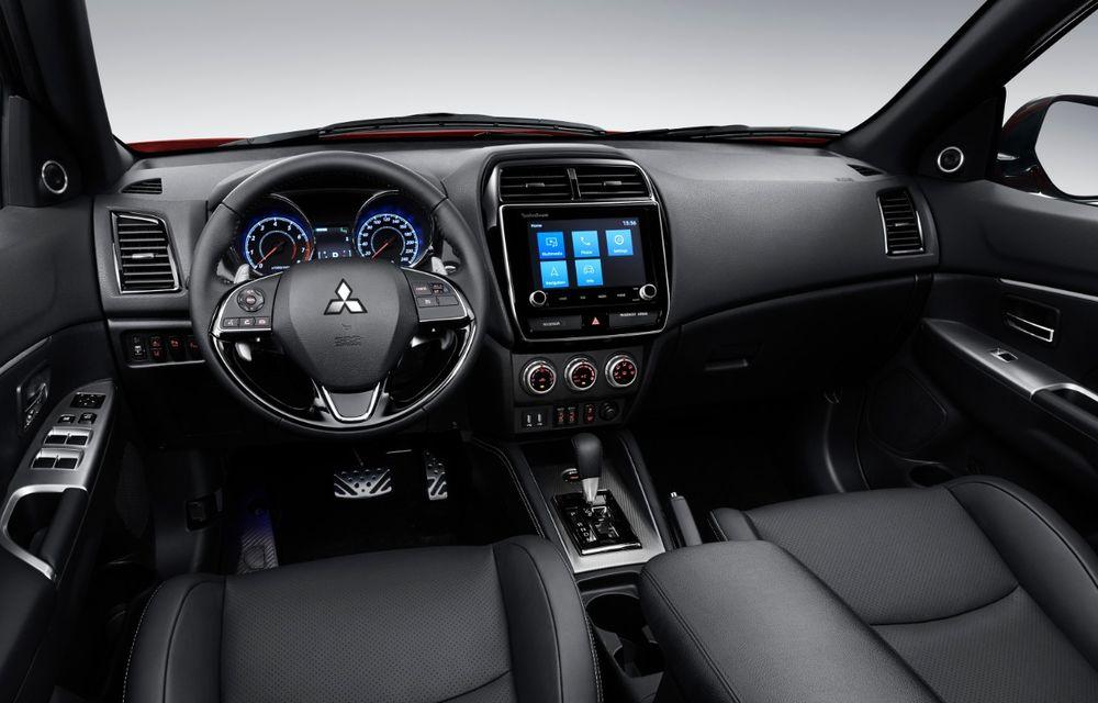 Primele imagini oficiale cu viitorul Mitsubishi ASX: design nou, sisteme de siguranță moderne și fără motorizări diesel - Poza 6
