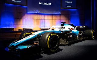 Williams a lansat noile culori pentru sezonul 2019: compania de telecomunicații Rokit este noul sponsor principal al echipei