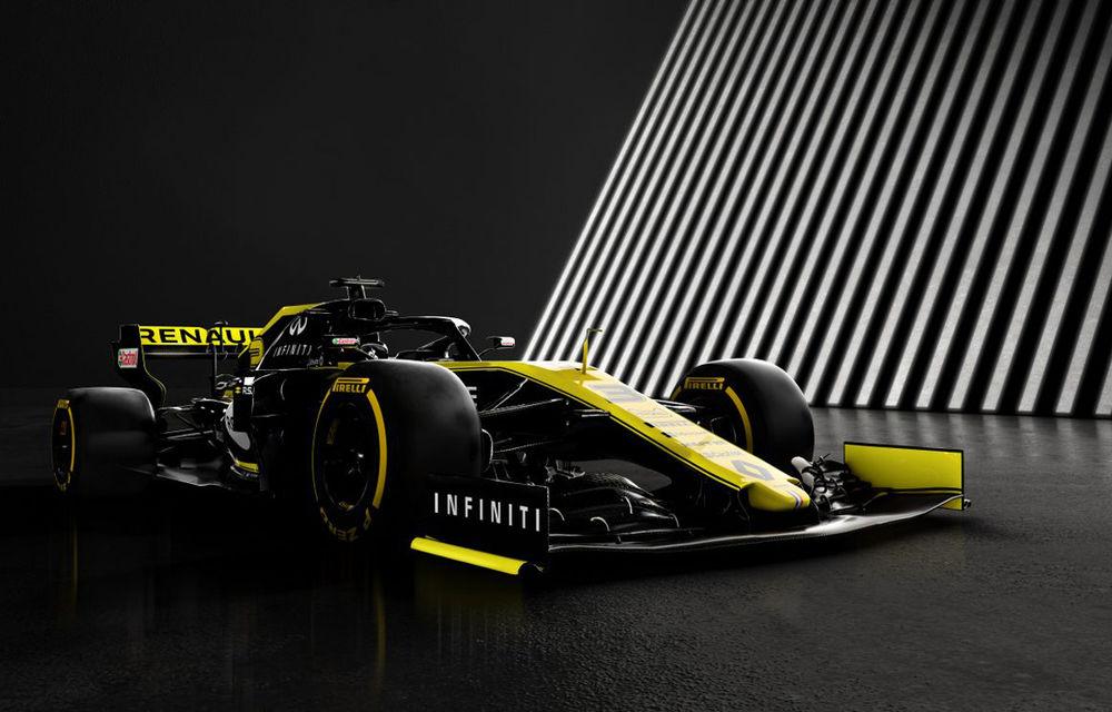 """Renault a prezentat noul monopost pentru sezonul 2019: """"Vrem să progresăm cât mai mult spre echipele de top"""" - Poza 1"""