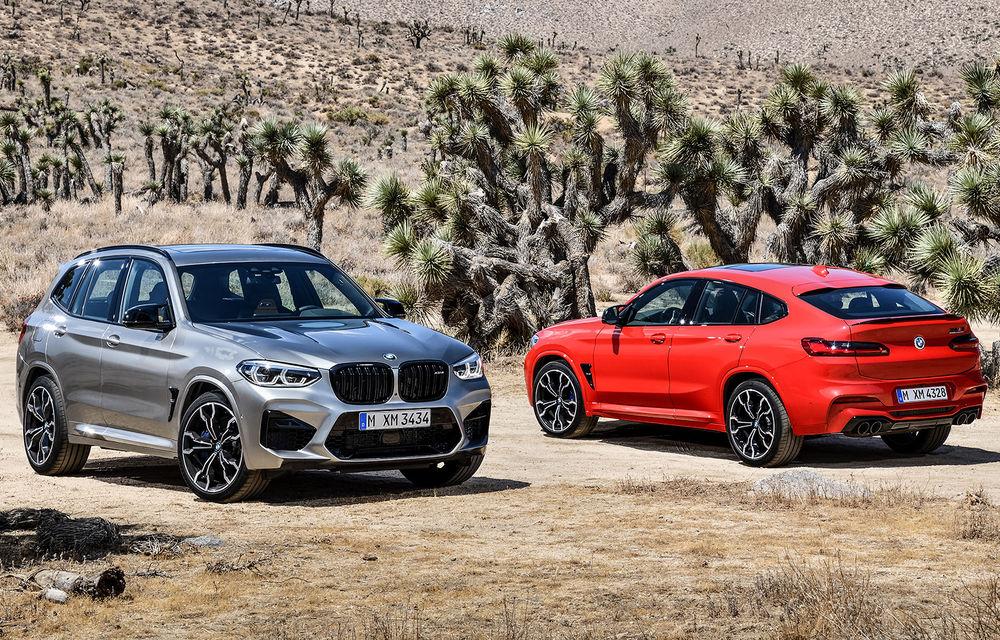 BMW prezintă noile X3 M și X4 M: 510 CP și 0-100 km/h în 4.1 secunde pentru versiunile Competition - Poza 1