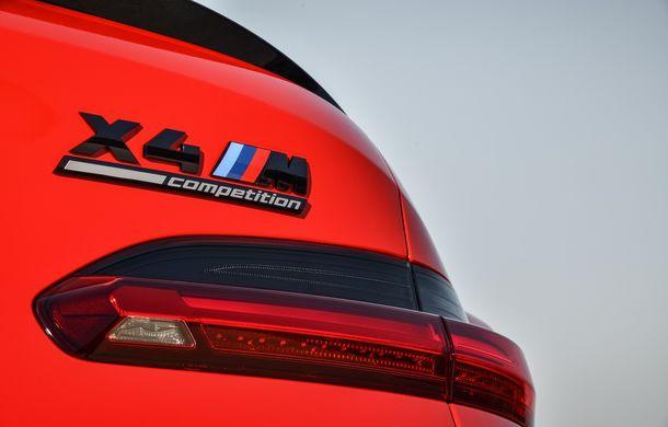 BMW prezintă noile X3 M și X4 M: 510 CP și 0-100 km/h în 4.1 secunde pentru versiunile Competition - Poza 81