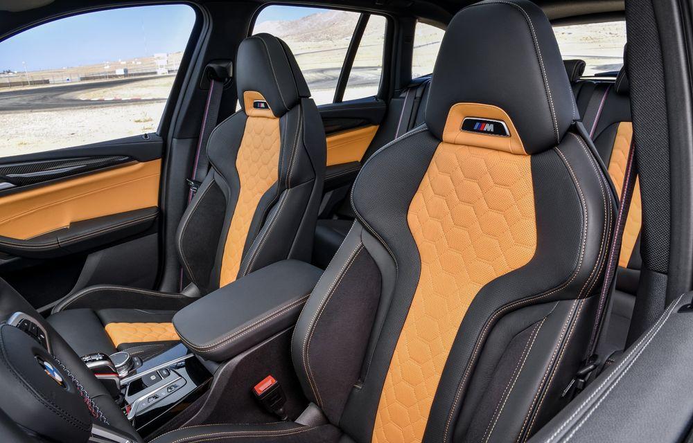 BMW prezintă noile X3 M și X4 M: 510 CP și 0-100 km/h în 4.1 secunde pentru versiunile Competition - Poza 130