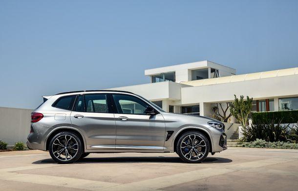 BMW prezintă noile X3 M și X4 M: 510 CP și 0-100 km/h în 4.1 secunde pentru versiunile Competition - Poza 13