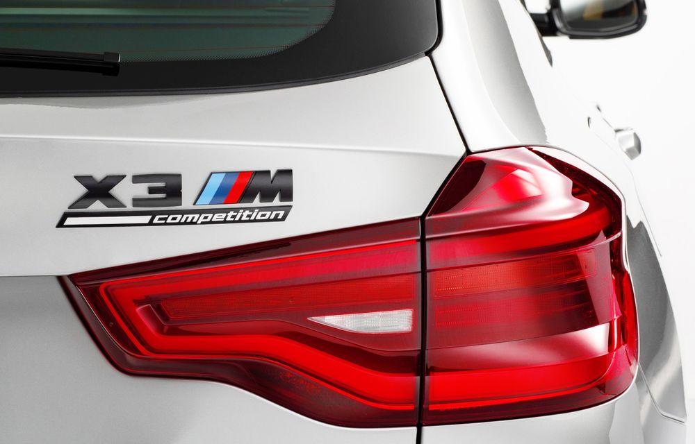 BMW prezintă noile X3 M și X4 M: 510 CP și 0-100 km/h în 4.1 secunde pentru versiunile Competition - Poza 104