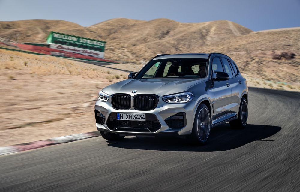 BMW prezintă noile X3 M și X4 M: 510 CP și 0-100 km/h în 4.1 secunde pentru versiunile Competition - Poza 22