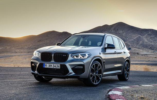 BMW prezintă noile X3 M și X4 M: 510 CP și 0-100 km/h în 4.1 secunde pentru versiunile Competition - Poza 15