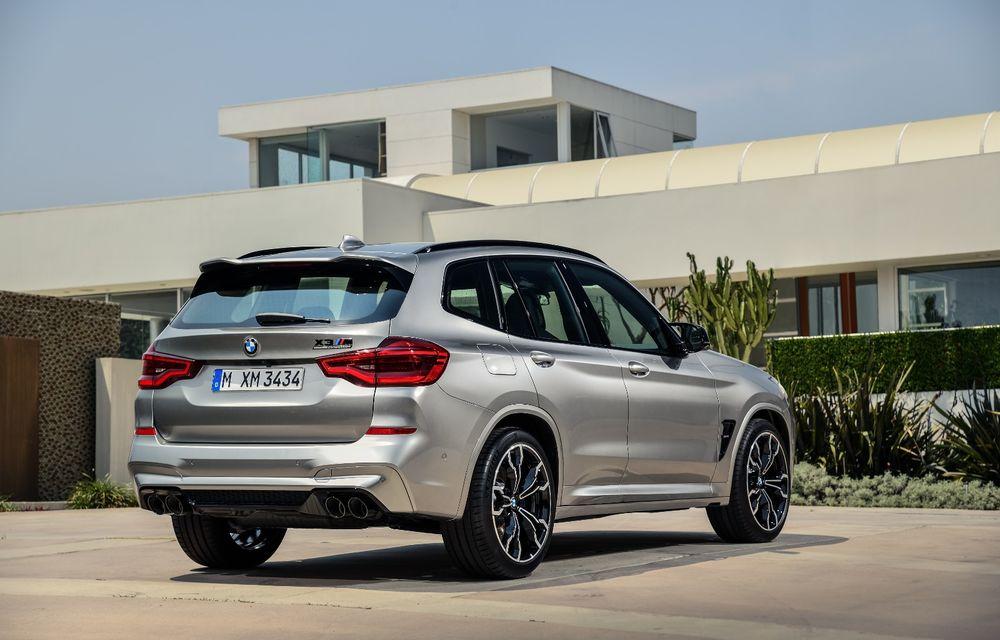 BMW prezintă noile X3 M și X4 M: 510 CP și 0-100 km/h în 4.1 secunde pentru versiunile Competition - Poza 12