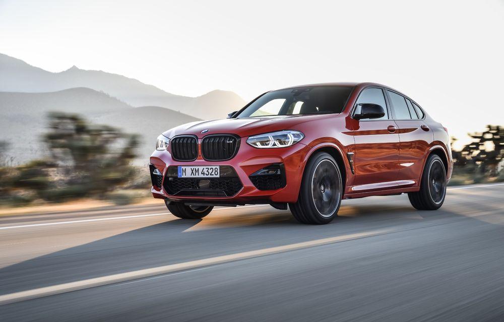 BMW prezintă noile X3 M și X4 M: 510 CP și 0-100 km/h în 4.1 secunde pentru versiunile Competition - Poza 58