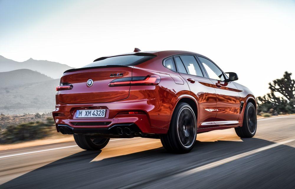 BMW prezintă noile X3 M și X4 M: 510 CP și 0-100 km/h în 4.1 secunde pentru versiunile Competition - Poza 76