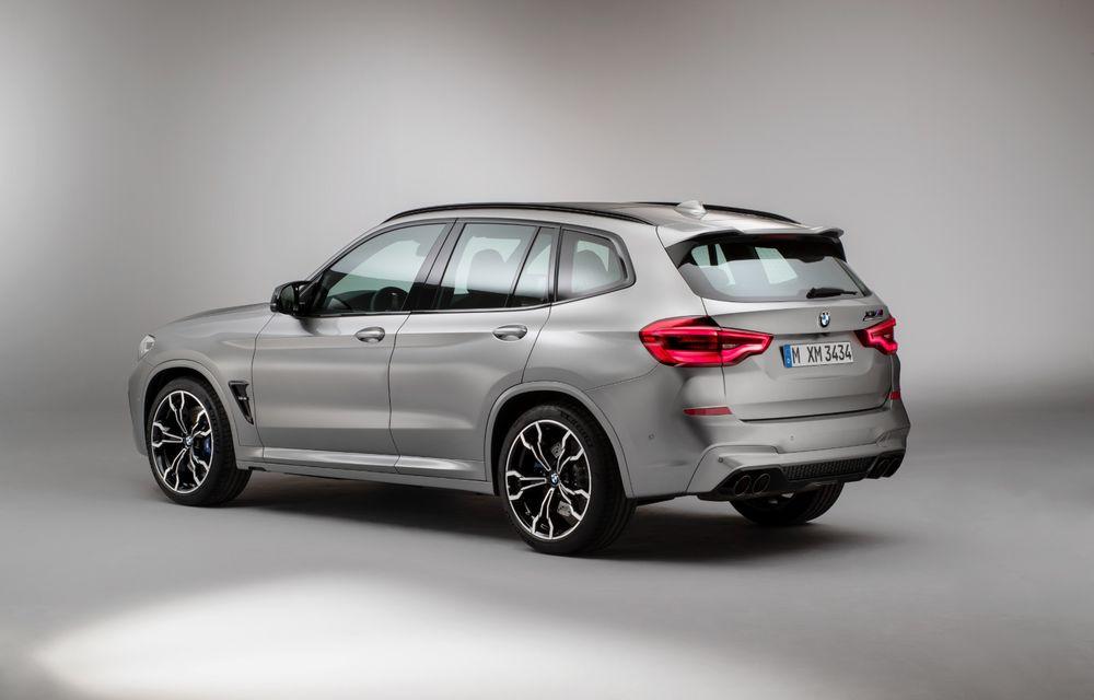 BMW prezintă noile X3 M și X4 M: 510 CP și 0-100 km/h în 4.1 secunde pentru versiunile Competition - Poza 78