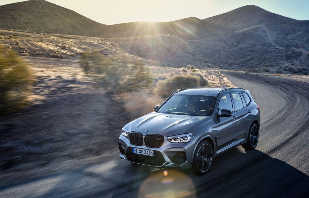 BMW prezintă noile X3 M și X4 M: 510 CP și 0-100 km/h în 4.1 secunde pentru versiunile Competition - Poza 40