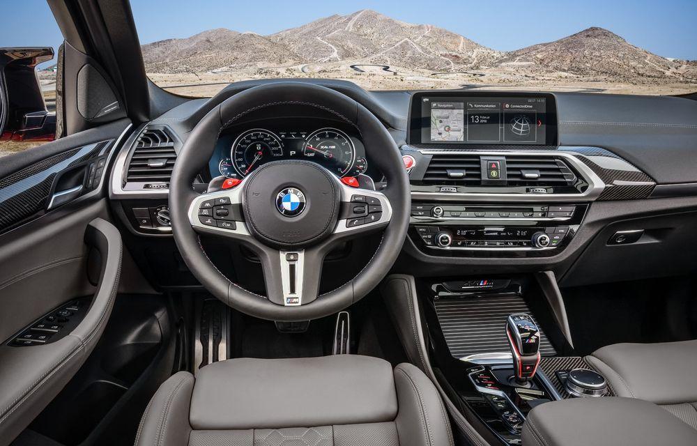 BMW prezintă noile X3 M și X4 M: 510 CP și 0-100 km/h în 4.1 secunde pentru versiunile Competition - Poza 107