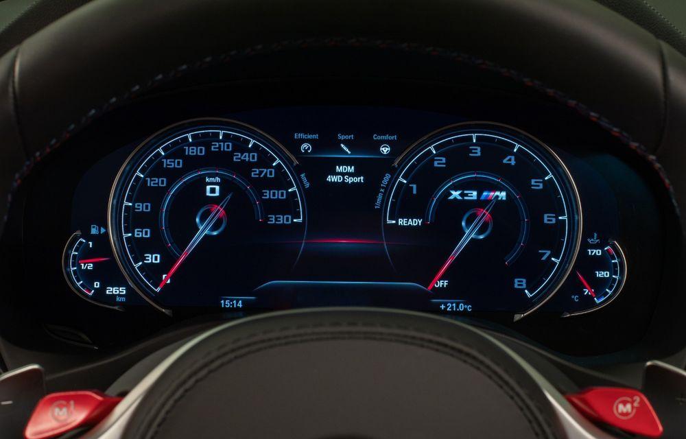 BMW prezintă noile X3 M și X4 M: 510 CP și 0-100 km/h în 4.1 secunde pentru versiunile Competition - Poza 142