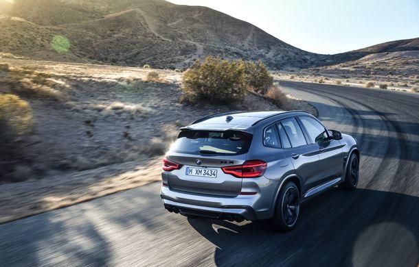 BMW prezintă noile X3 M și X4 M: 510 CP și 0-100 km/h în 4.1 secunde pentru versiunile Competition - Poza 41