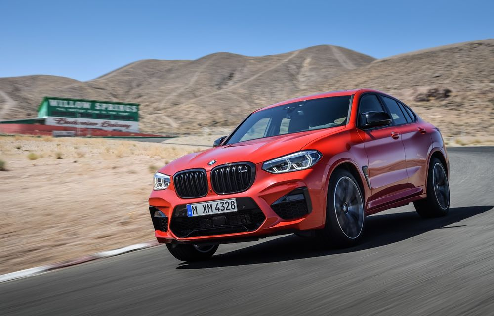 BMW prezintă noile X3 M și X4 M: 510 CP și 0-100 km/h în 4.1 secunde pentru versiunile Competition - Poza 52
