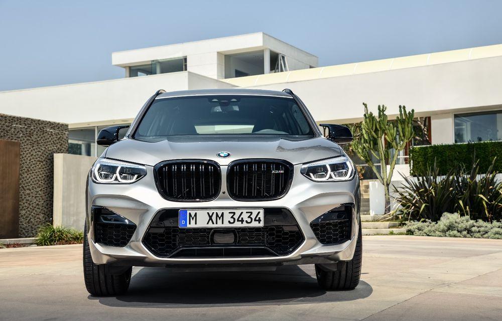 BMW prezintă noile X3 M și X4 M: 510 CP și 0-100 km/h în 4.1 secunde pentru versiunile Competition - Poza 9