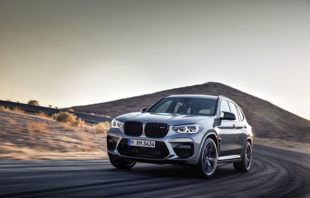 BMW prezintă noile X3 M și X4 M: 510 CP și 0-100 km/h în 4.1 secunde pentru versiunile Competition - Poza 39