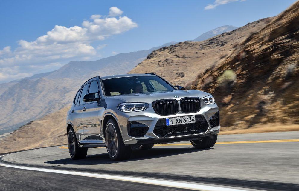 BMW prezintă noile X3 M și X4 M: 510 CP și 0-100 km/h în 4.1 secunde pentru versiunile Competition - Poza 29